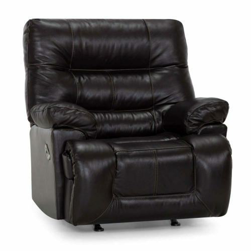 Franklin Furniture - 4585 Boss Leather Recliner