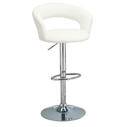 See Details - Rec Room Adjustable Bar Stool White