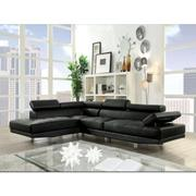 CONNOR BLACK PU SECTIONAL SOFA Product Image