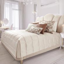 9pc Queen Comforter Set Ivory