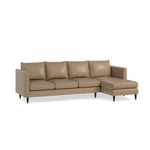 Ariana 2 Piece Right Chaise Sectional