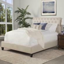 CAMERON - DOWNY Upholstered Bed Collection (Natural)