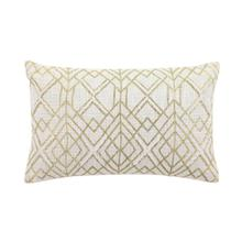 "CTTN MTLLC PILLOW 21""W, 13""H"
