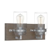 See Details - Craven Bath Light in Aged Oak
