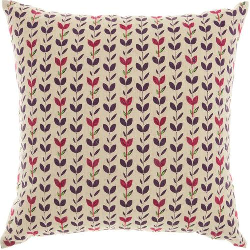"Trendy, Hip, New-age Rn788 Natural 18"" X 18"" Throw Pillow"