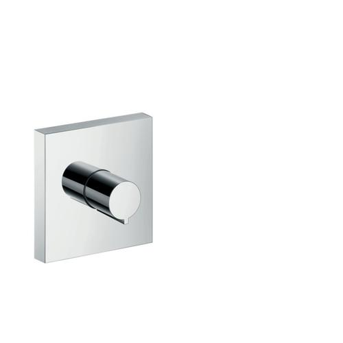 "Chrome Volume Control Trim 5"" x 5"""