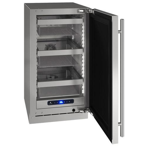 """Hre518 18"""" Refrigerator With Stainless Solid Finish (115 V/60 Hz Volts /60 Hz Hz)"""