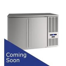 "52"" Back Bar Refrigeration With Stainless Solid Finish (115 V/60 Hz Volts /60 Hz Hz)"