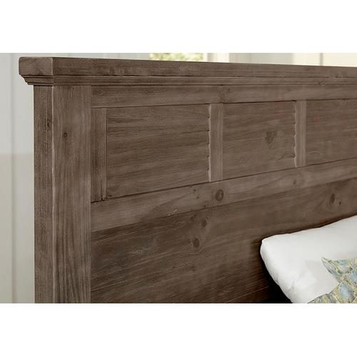 King Louver Bed