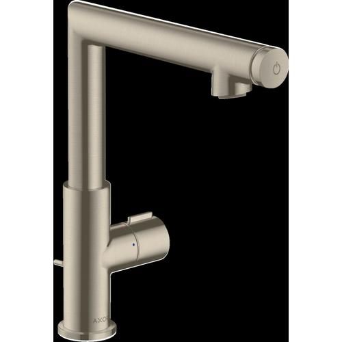 Brushed Nickel Single-Hole Faucet Select 220, 1.2 GPM