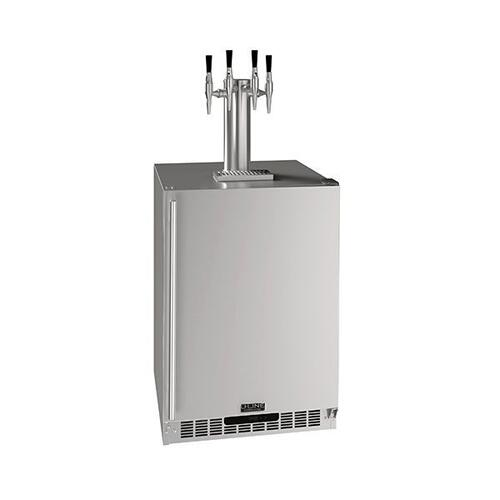 "24"" 4 Tap Nitro Coffee Dispenser With Stainless Solid Finish (230 V/50 Hz Volts /50 Hz Hz)"