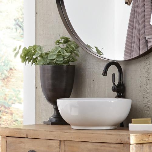 Howard Elliott - Graphite Aluminum Footed Chalice Vase, Small