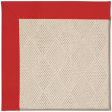 """Creative Concepts-White Wicker Canvas Jockey Red - Rectangle - 24"""" x 36"""""""