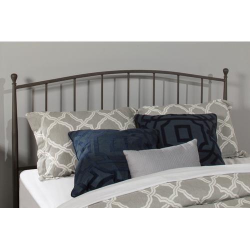 Gallery - Warwick Queen Bed Set With Rails (gray Bronze)
