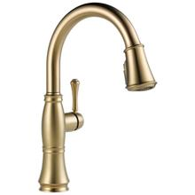 Lumicoat Champagne Bronze Single Handle Pulldown Kitchen Faucet