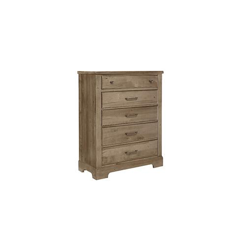Artisan & Post Solid Wood - Chest - 5 Drawers