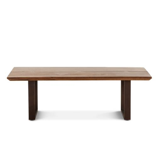 """Mozambique 52"""" Coffee Table Walnut"""