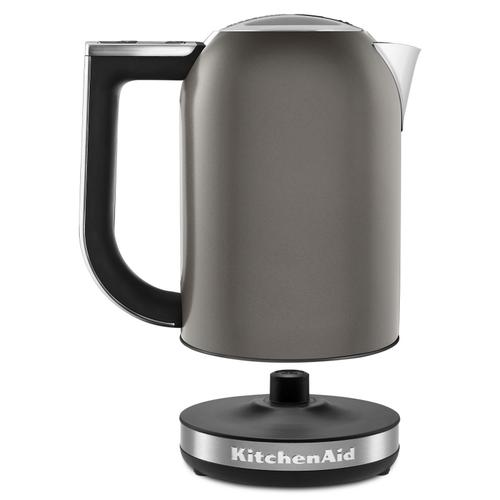 Gallery - 1.7 L Architect™ Series Electric Kettle Cocoa Silver