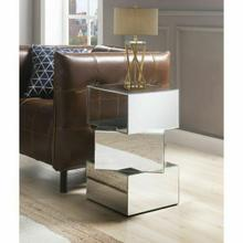 ACME Meria End Table - 80272 - Mirrored