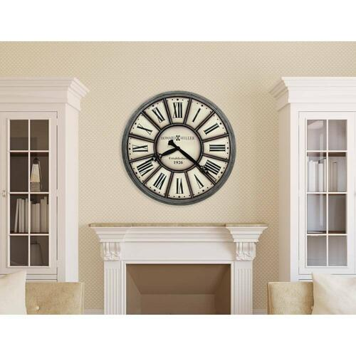 Howard Miller Company Time II Oversized Wall Clock 625613
