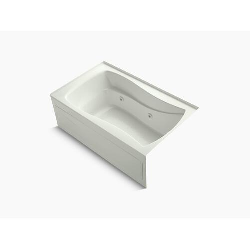 "Dune 60"" X 36"" Alcove Whirlpool With Integral Apron, Integral Flange, Right-hand Drain and Adjustable Jets"