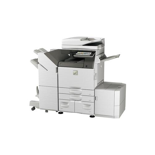 60 ppm B&W and Color networked digital MFP
