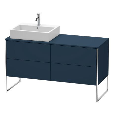 Product Image - Vanity Unit For Console Floorstanding, Night Blue Satin Matte (lacquer)