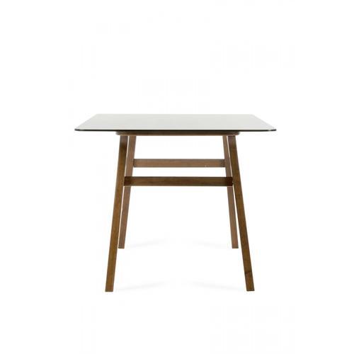 VIG Furniture - Modrest Zeppelin Modern Smoked Glass Dining Table