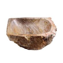 Tiama Petrified Wood Above Counter Basin - Yellow