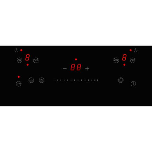 Product Image - 30 Ceran Touch Control Cooktop 4 heating zones Nero