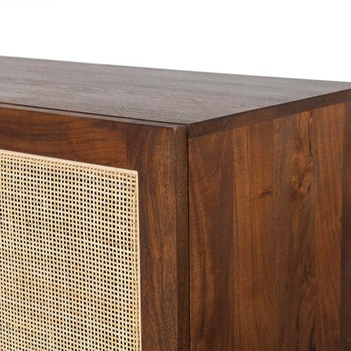 Goldie Media Console-toasted Acacia