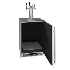 "U-Line24"" 4 Tap Beer Coffee & Wine Dispenser With Stainless Solid Finish (115 V/60 Hz Volts /60 Hz Hz)"