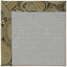 """Inspire-Silver Stratigraphic Harvest Gold - Rectangle - 18"""" x 18"""""""