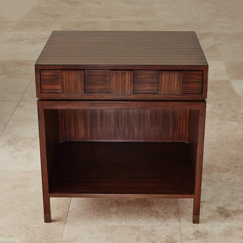 Global Views - Quad Block Bedside Table