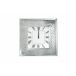 ACME Nysa Wall Clock - 97394 - Mirrored