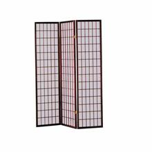 ACME Naomi 3-Panel Room Divider - 02277 - Cherry
