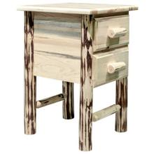 Montana Collection Nightstand with 2 Drawers