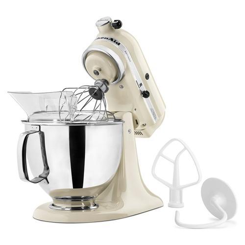 Artisan® Series 5 Quart Tilt-Head Stand Mixer Almond Cream