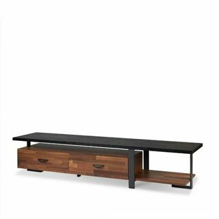 ACME Elling TV Stand - 91235 - Walnut & Black