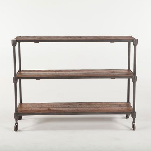 """Product Image - Industrial Teak 50"""" Console Table"""