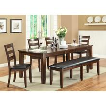 Arianna Brown Dining Table Set