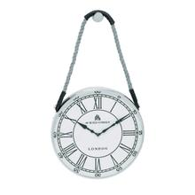 "MTL ROPE WALL CLOCK 14""W, 24""H"