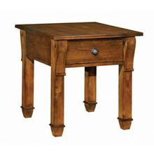 Tuscano Rectangular Drawer End Table