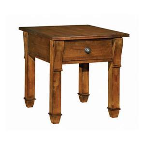 Tuscano Rectangular Drawer End Table