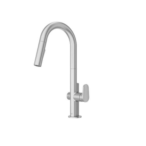 American Standard - Beale MeasureFill Touch Kitchen Faucet - 1.5 GPM  American Standard - Stainless Steel