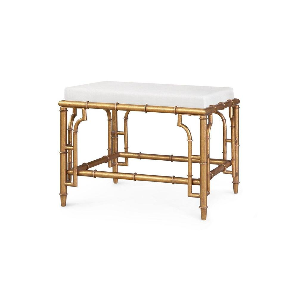 See Details - Collette Stool, Gold