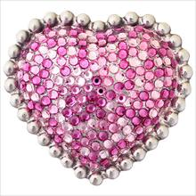 Product Image - Heart with Swarovski Crystals