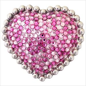 Heart with Swarovski Crystals Product Image