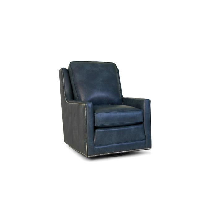 Leather Swivel Tiltback Chair