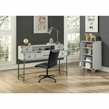 ACME Orchest Hutch - 36143 - Transitional, Industrial - Wood (Poplar/Pine), MDF - Gray